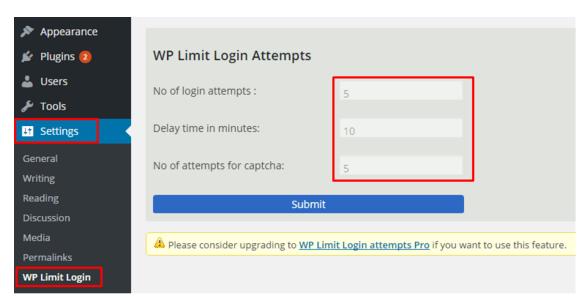 External WordPress Security 2