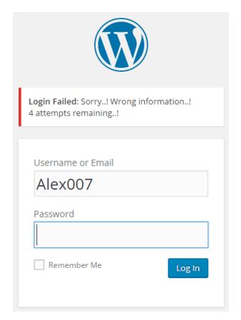 External WordPress Security 3