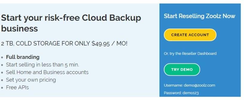 Zoolz- Best Cloud Service For Windows
