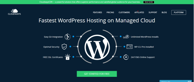 cloudways review- wordpress hosting
