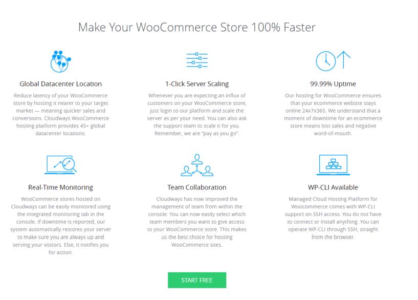 cloudways- woo commerce hosting