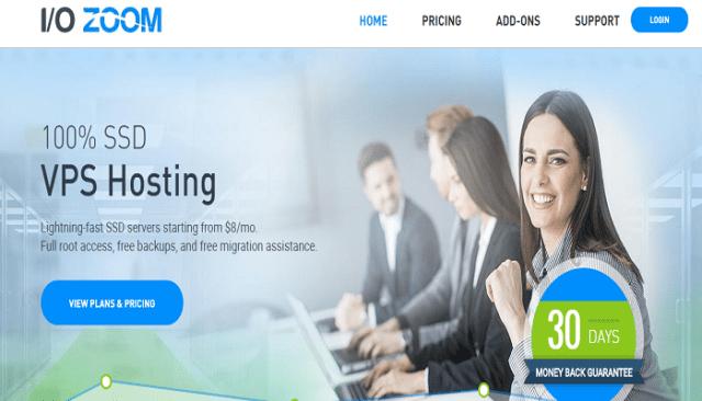 IO Zoom SSD VPS Hosting Best VPS Hosting Provider