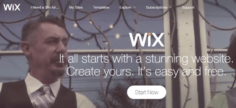 WIX Free Website Builder Create a Free Website
