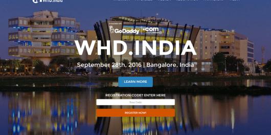 WHD india Bangalore september 2016