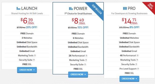 Inmotion hosting prices