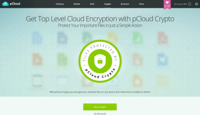 pCloud Encrypted Cloud Storage Cloud Encryption Software