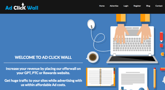 AdClickWallPM: top content lockers