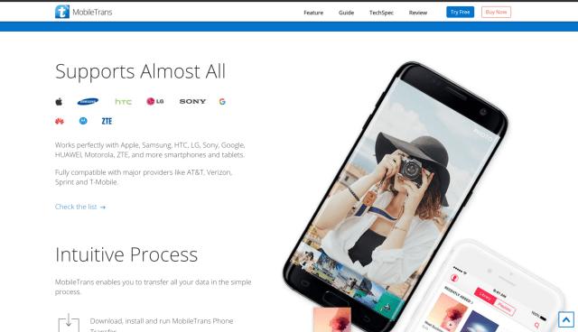 MobileTrans WonderShare Review
