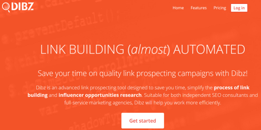 Dibz link building tool review