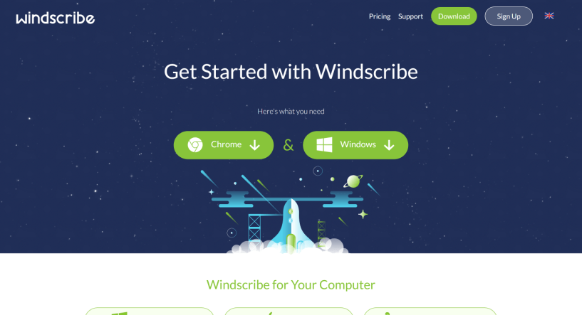 Windscribe review features