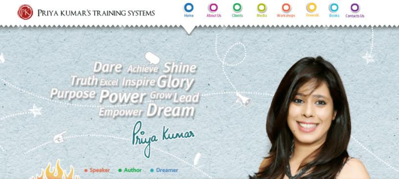 priyakumar motivational speaker in India
