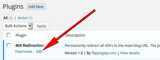404-Redirection-WordPress-Plugin-Subdirectory-Fix-Plugin-Edit