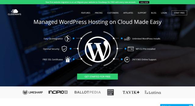 Cloudways wordpress hosting