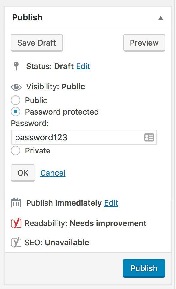 WordPress Password Protect Plugins (3)