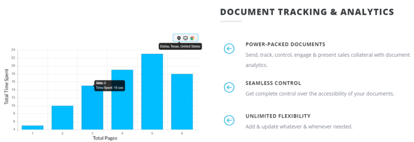 Saleshandy Vs Mailchimp VS Getresponse- Document Tracking