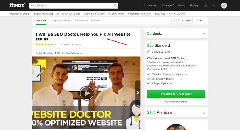 Seo doctor- How to Make Money With Fiverr