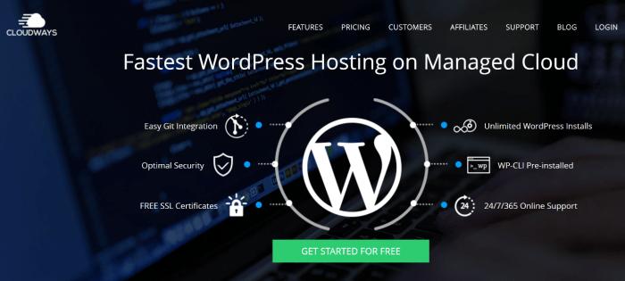 cloudways hosting wordpress managed