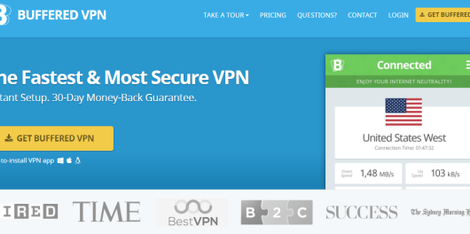 Buffered VPN - top VPN service for Mac
