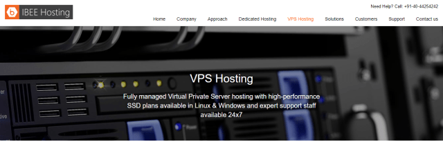 IBEE Hosting Review - VPS Hosting