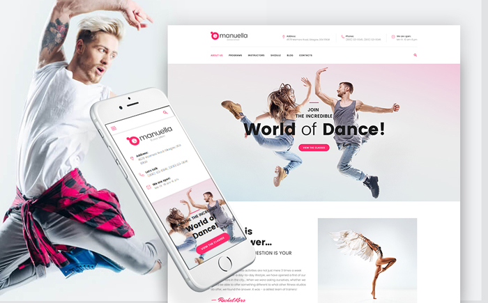 Emanuella  WordPress Theme