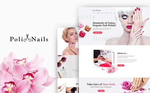 PoliNails - Nail Salon Pure WordPress Theme