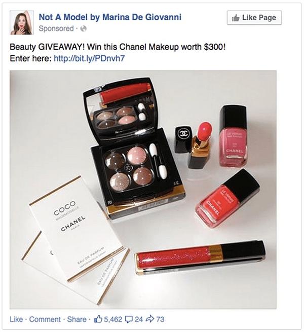 Facebook-ad - social media