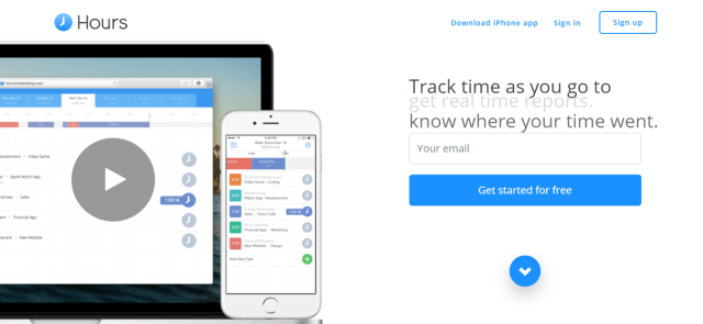 Hours - Time Tracking App Online