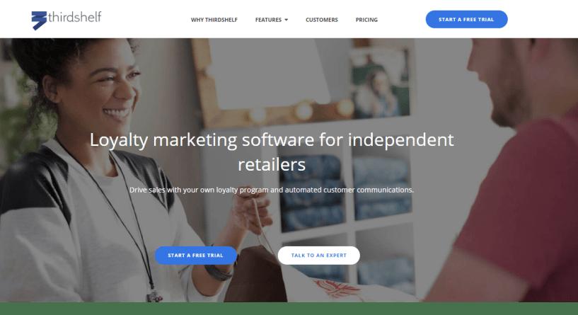Thirdshelf - Loyalty Marketing Software for Retailers