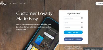 Top Loyalty Rewards App - flok
