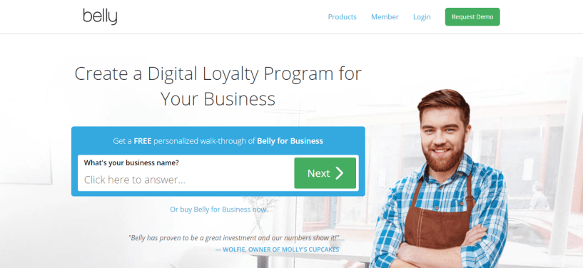 Best Customer Loyalty Program - Belly