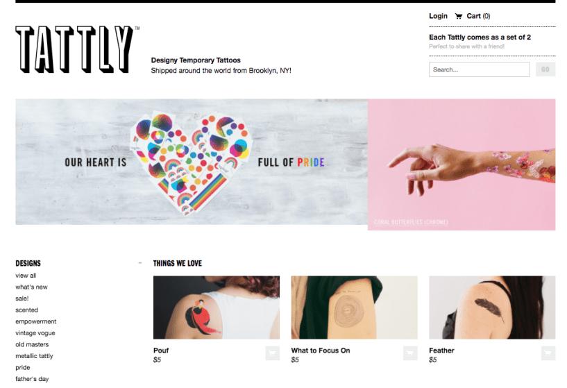tattly AM - Shopify store