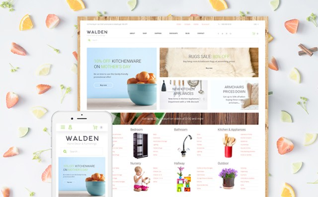 Walden - Home Decor & Furnishing Online Supermarket WooCommerce Theme