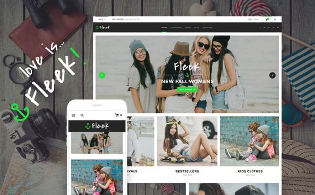 Fleek - Urban Fashion Store WooCommerce Theme