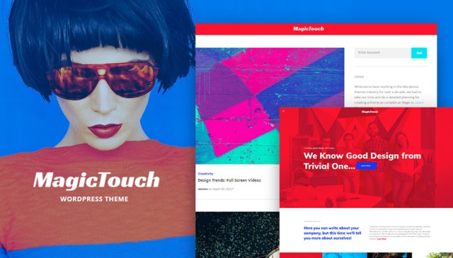 MagicTouch – Web Design Studio Responsive WordPress Theme