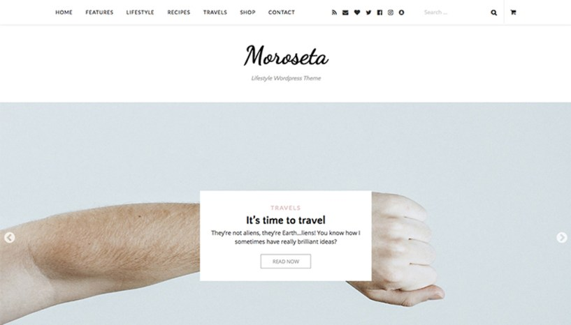 Moroseta WordPress Theme