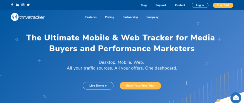 ThriveTracker affiliate tracker