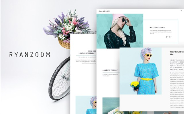 RyanZoom - Photographer Portfolio Responsive WordPress Theme