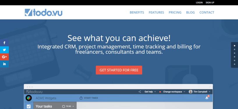 CRM Task Management - Todo.vu