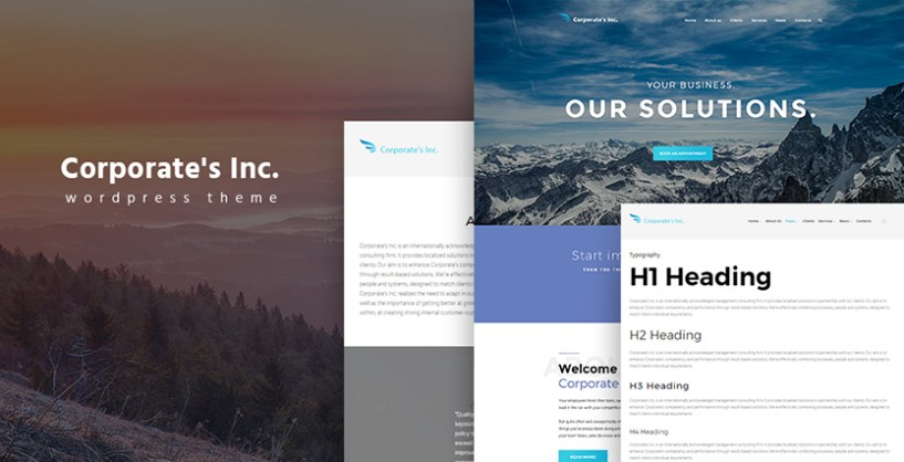 Investment Advisor WordPress Theme