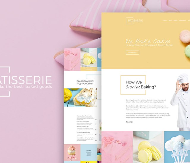 Bakery WordPress Theme - Resturant WordPress Theme