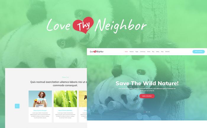 Charity Events WordPress Theme