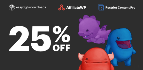 Black Friday Deal For Easy Digital Downloads, AffiliateWP & Restrict Content Pro