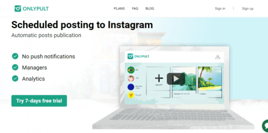 Onlypult Review - The best SMM tool for Instagram