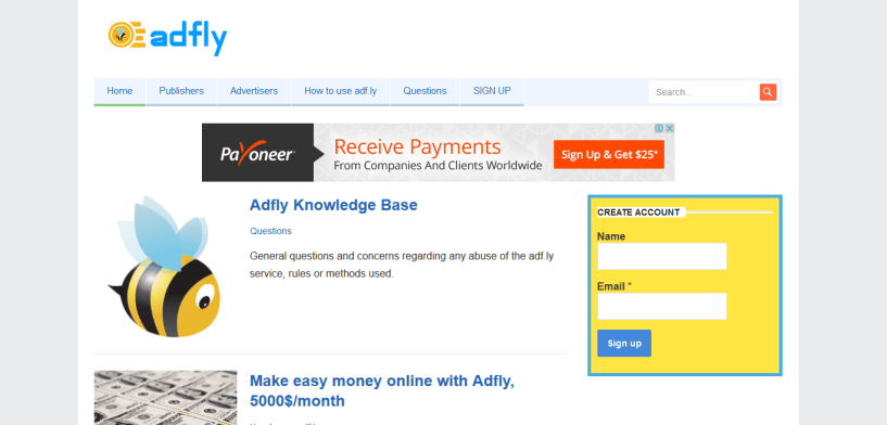 Make Money Online With Payoneer Partners Sites At Low