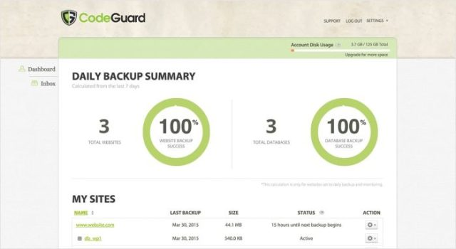 Wordpress backup - Managed WordPress Hosting