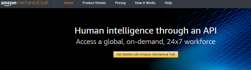 Amazon Mechanical Turk - Virtual Assistance Job Website