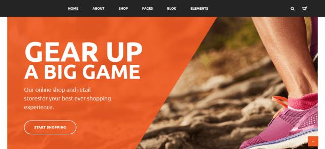 GYM Sport Store - WordPress Sports Theme