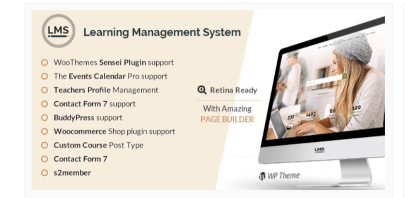 LMS Learning Management System Education LMS WordPress Theme - Build An Online Course Using WordPress