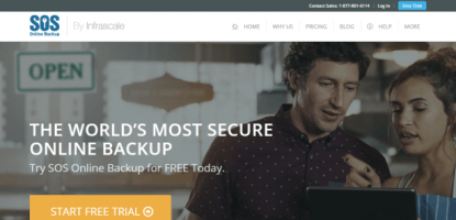 SOS Online Backup - Cloud Backup Business