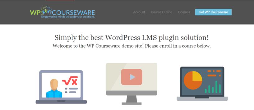 WP Courseware Demo – Build An Course Using WordPress